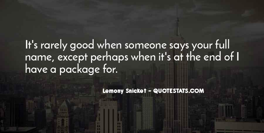 Quotes About Someone's Name #955766
