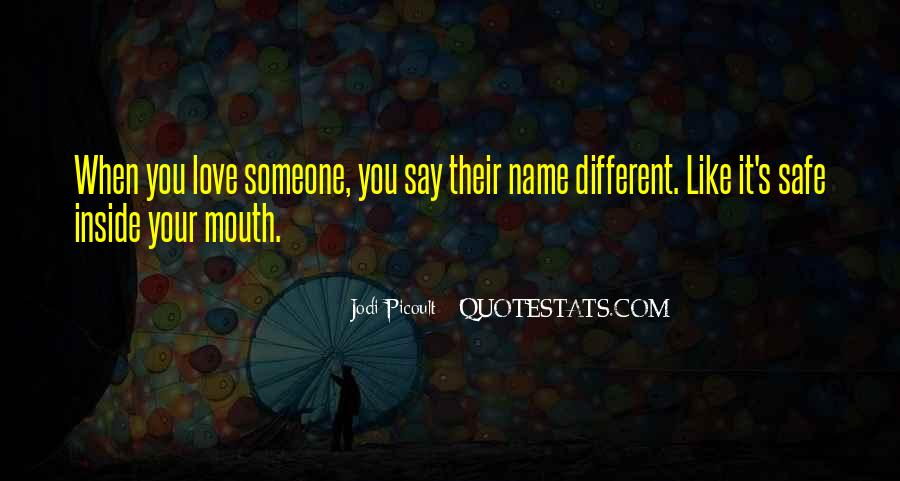 Quotes About Someone's Name #978355
