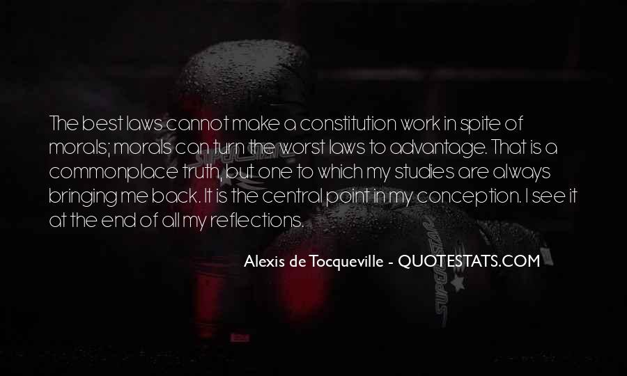 Tocqueville's Quotes #101130