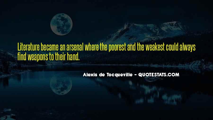 Tocqueville's Quotes #109445