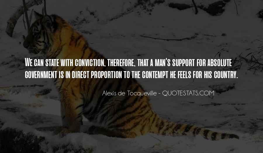 Tocqueville's Quotes #109784