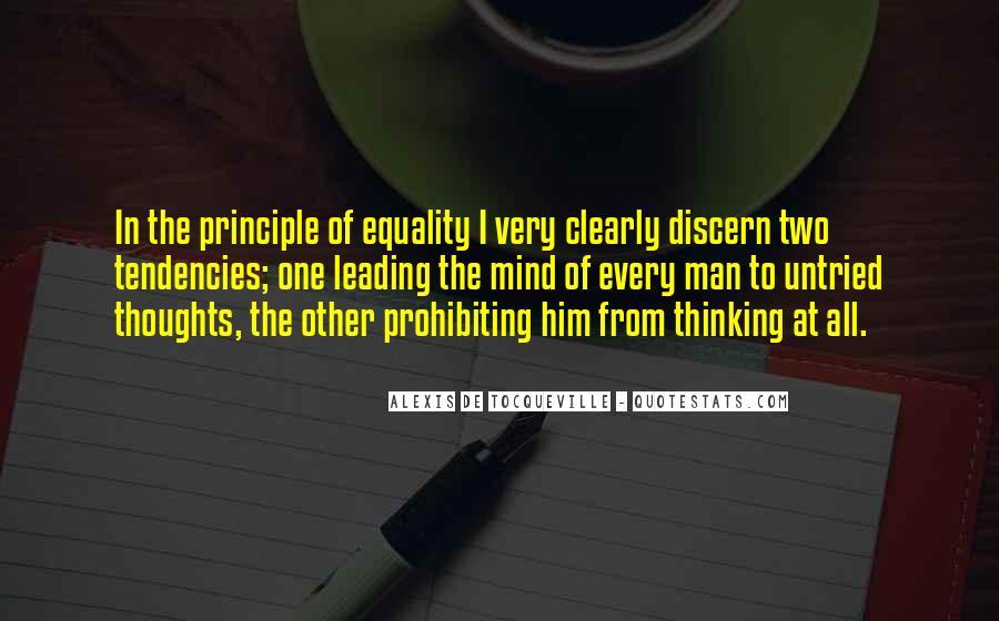 Tocqueville's Quotes #110273