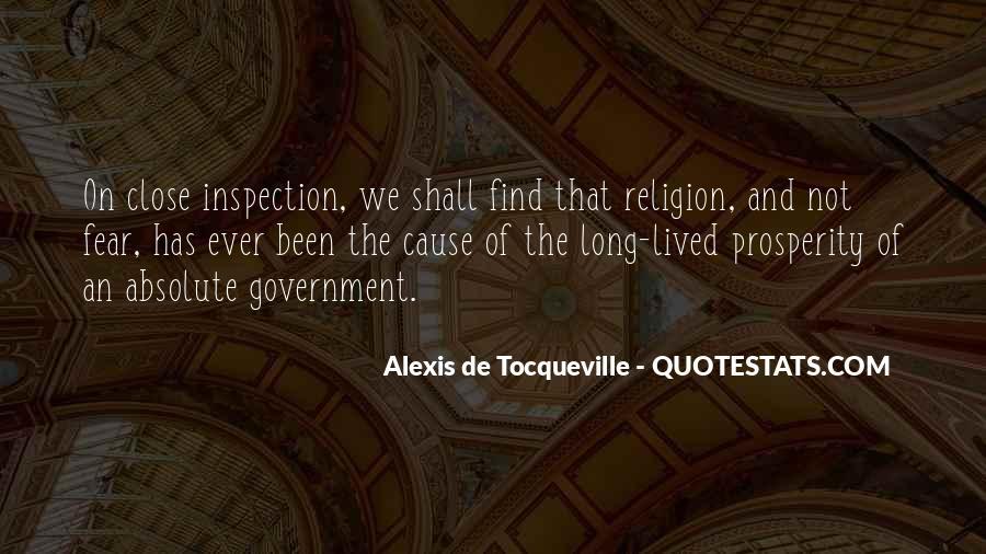 Tocqueville's Quotes #118554