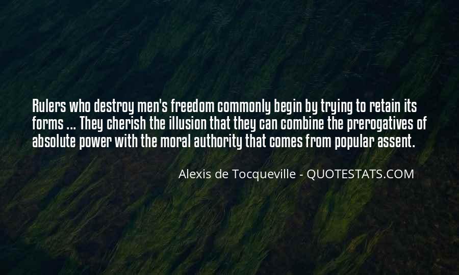 Tocqueville's Quotes #1226402