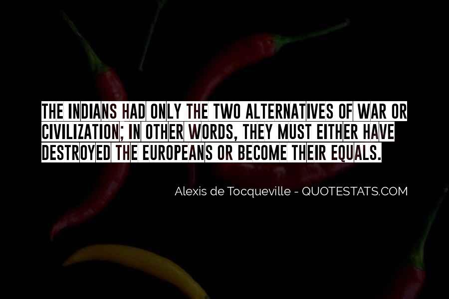 Tocqueville's Quotes #1242
