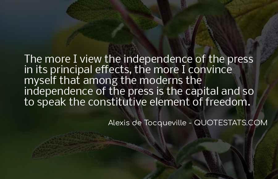 Tocqueville's Quotes #12458