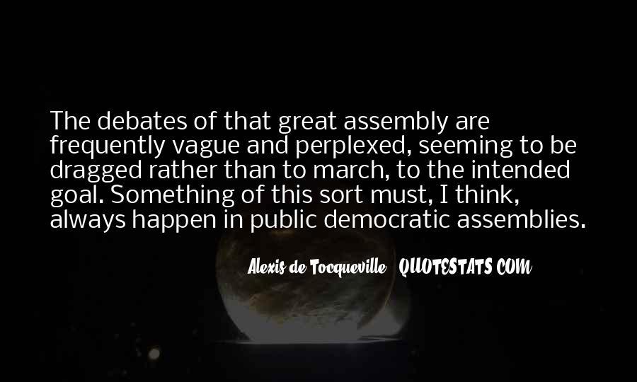 Tocqueville's Quotes #133262