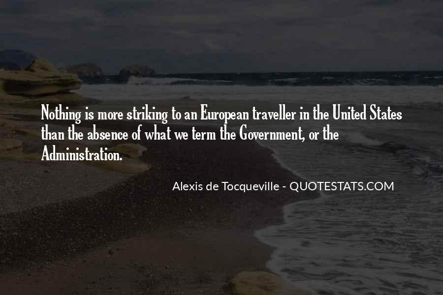 Tocqueville's Quotes #137096