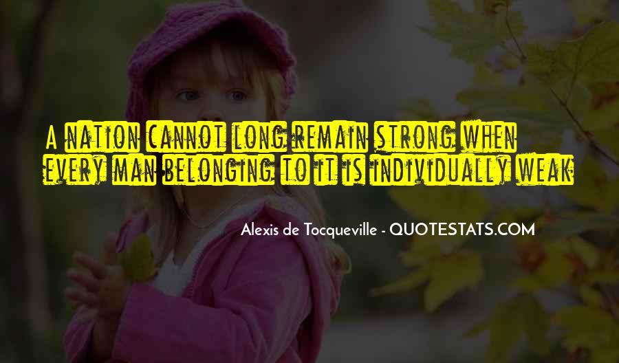 Tocqueville's Quotes #138261