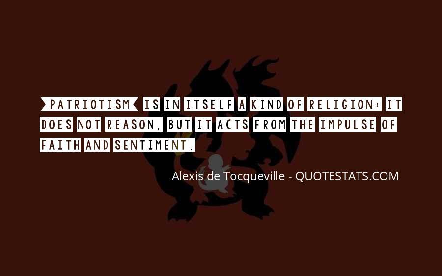 Tocqueville's Quotes #138420