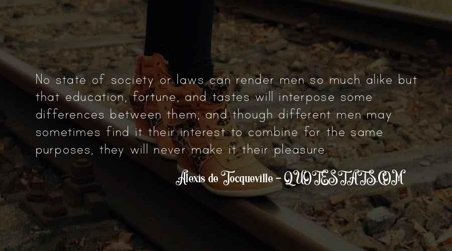 Tocqueville's Quotes #150756