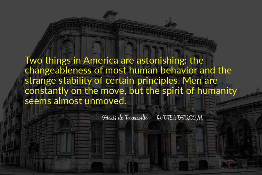 Tocqueville's Quotes #152313