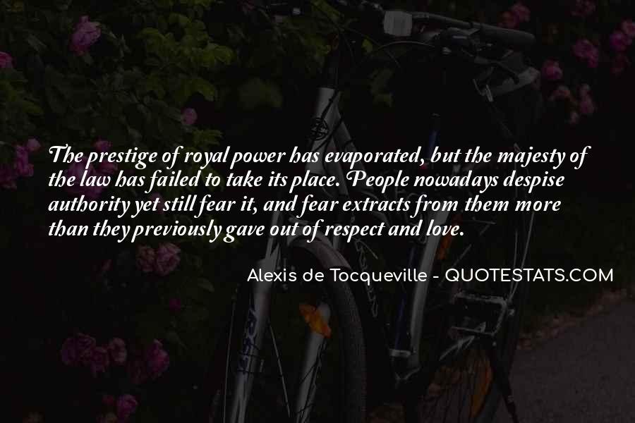 Tocqueville's Quotes #154416