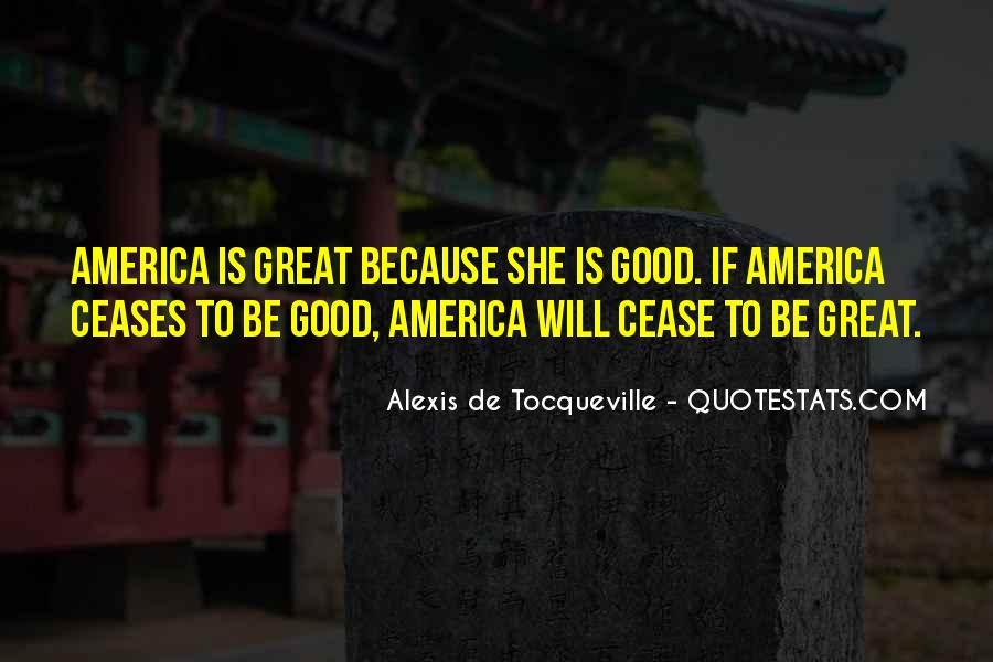 Tocqueville's Quotes #159719