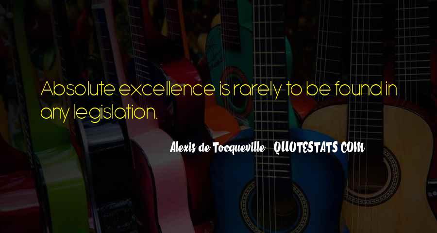 Tocqueville's Quotes #174437
