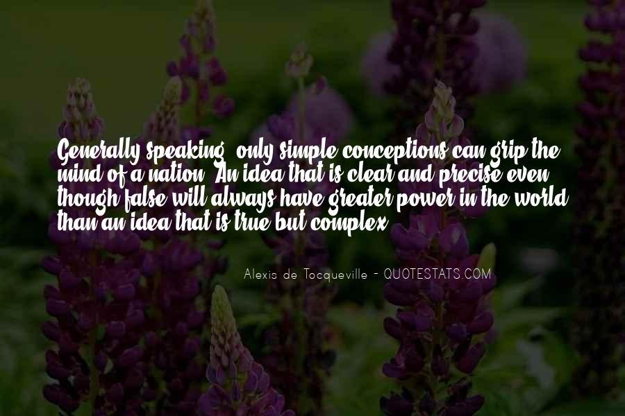 Tocqueville's Quotes #176194