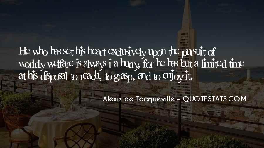 Tocqueville's Quotes #17874