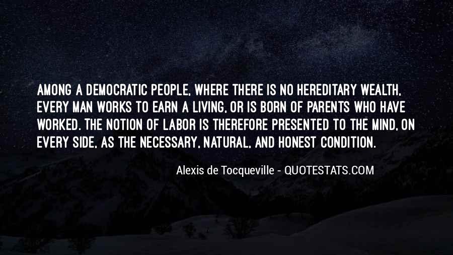 Tocqueville's Quotes #188670