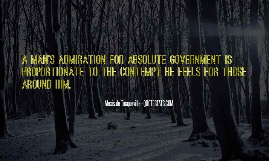 Tocqueville's Quotes #191335