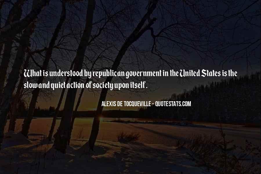 Tocqueville's Quotes #201126