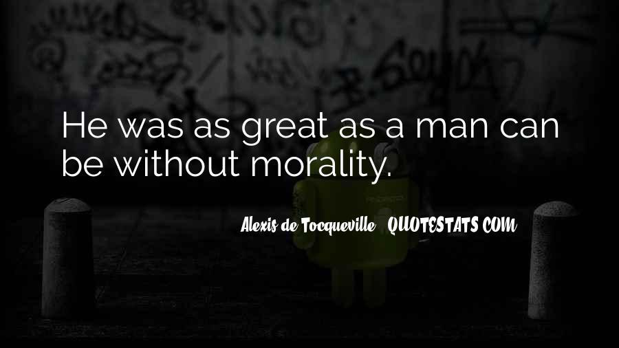 Tocqueville's Quotes #204908