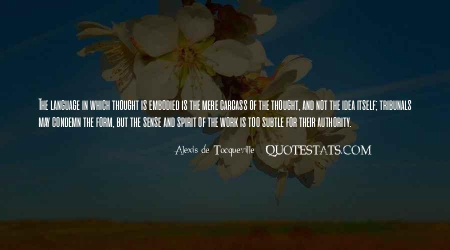 Tocqueville's Quotes #215918