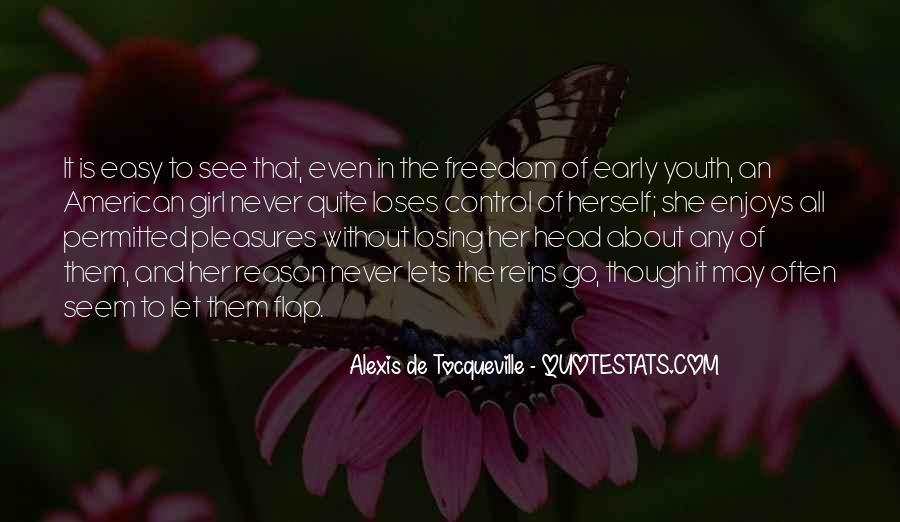 Tocqueville's Quotes #219170