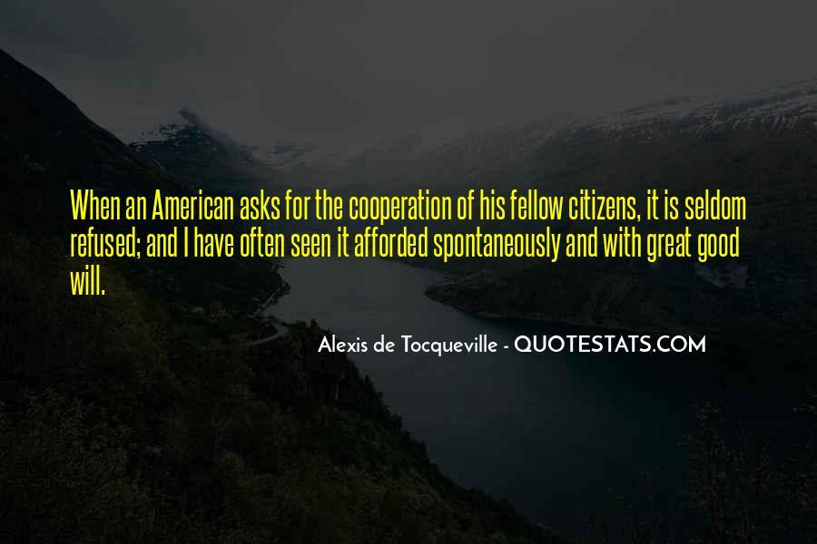Tocqueville's Quotes #232703