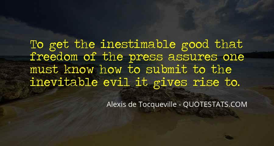 Tocqueville's Quotes #235107