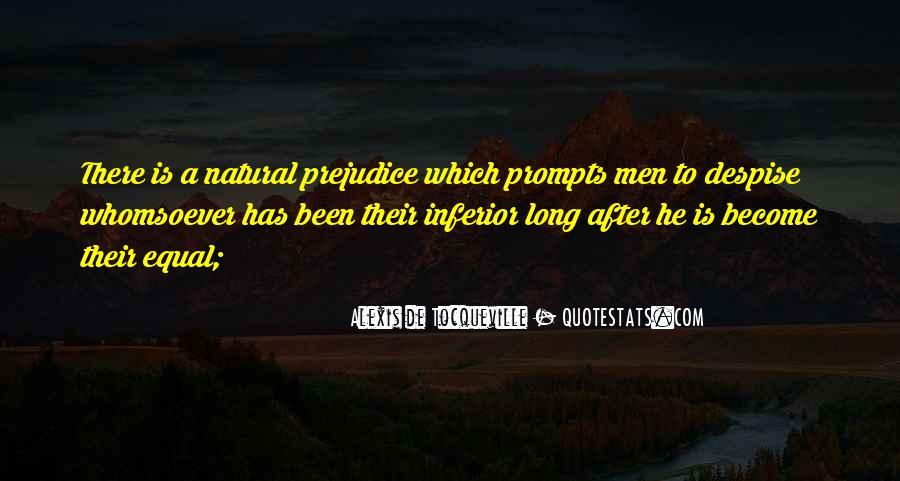 Tocqueville's Quotes #235291