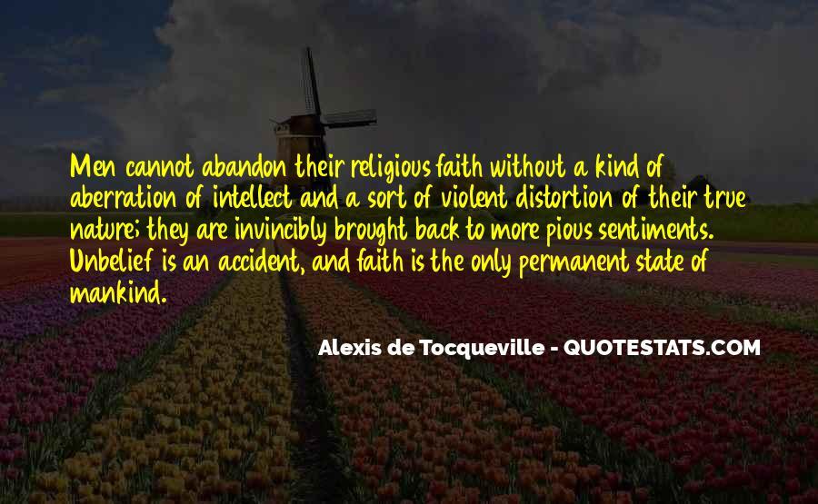 Tocqueville's Quotes #268539