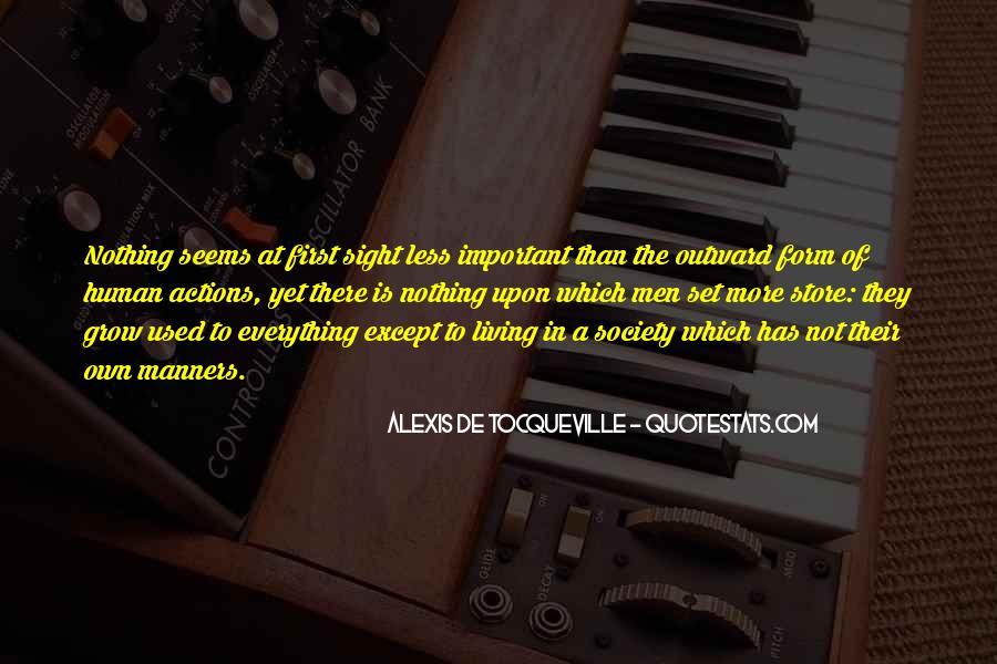 Tocqueville's Quotes #274015