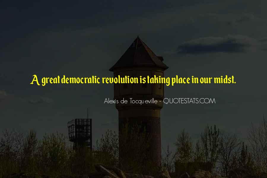 Tocqueville's Quotes #306611