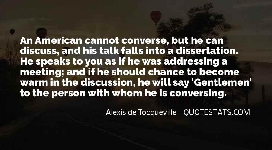 Tocqueville's Quotes #311094