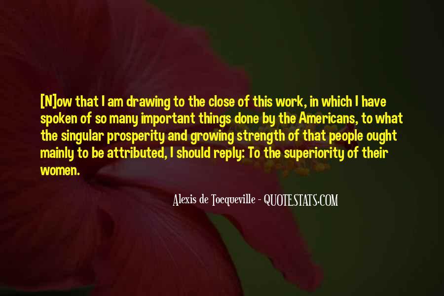 Tocqueville's Quotes #320629