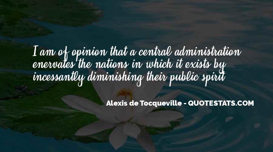 Tocqueville's Quotes #354966