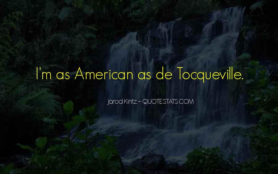 Tocqueville's Quotes #355647