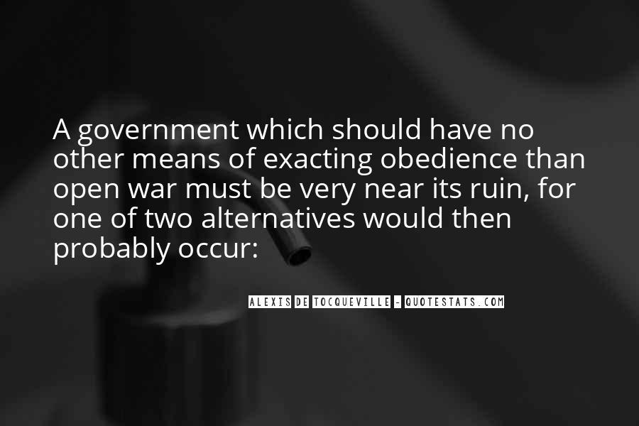 Tocqueville's Quotes #356622