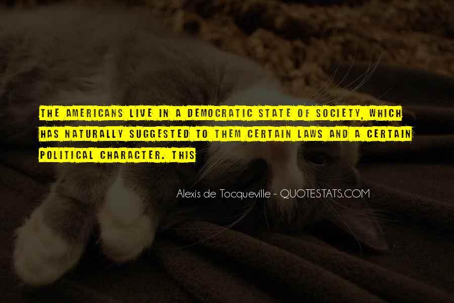Tocqueville's Quotes #36133