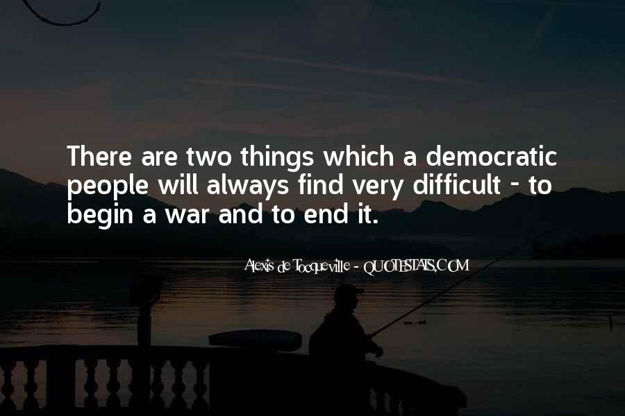 Tocqueville's Quotes #361714