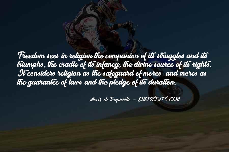 Tocqueville's Quotes #374860