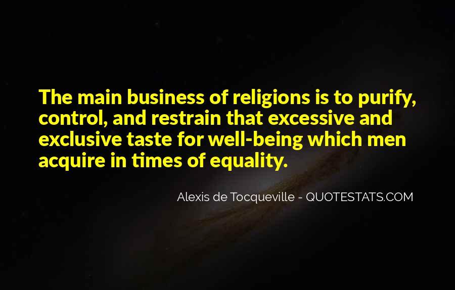 Tocqueville's Quotes #394575
