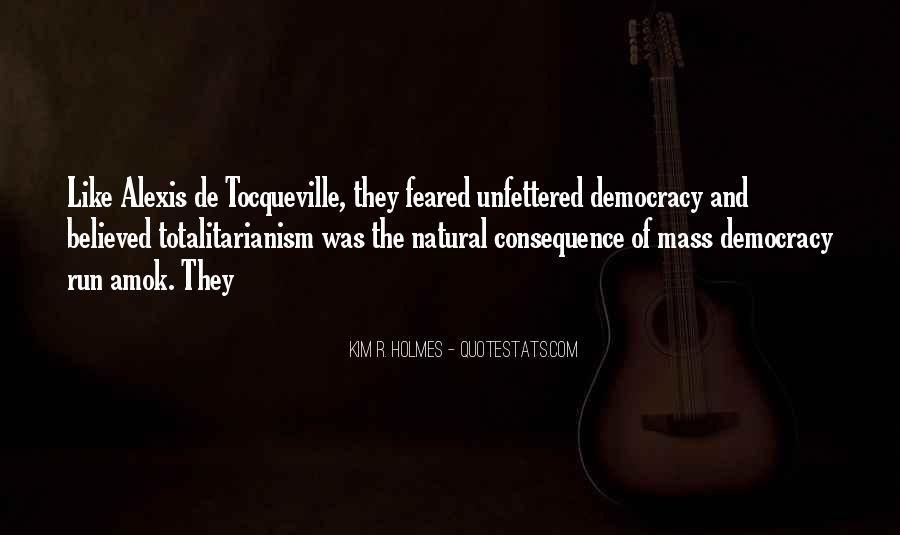 Tocqueville's Quotes #413506
