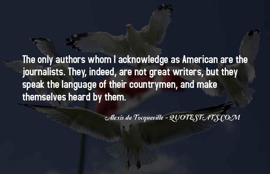 Tocqueville's Quotes #42328