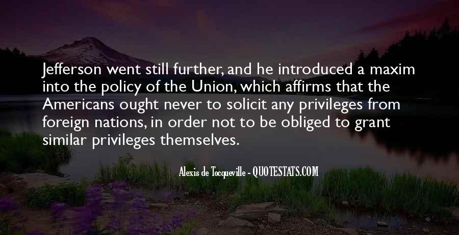 Tocqueville's Quotes #435328