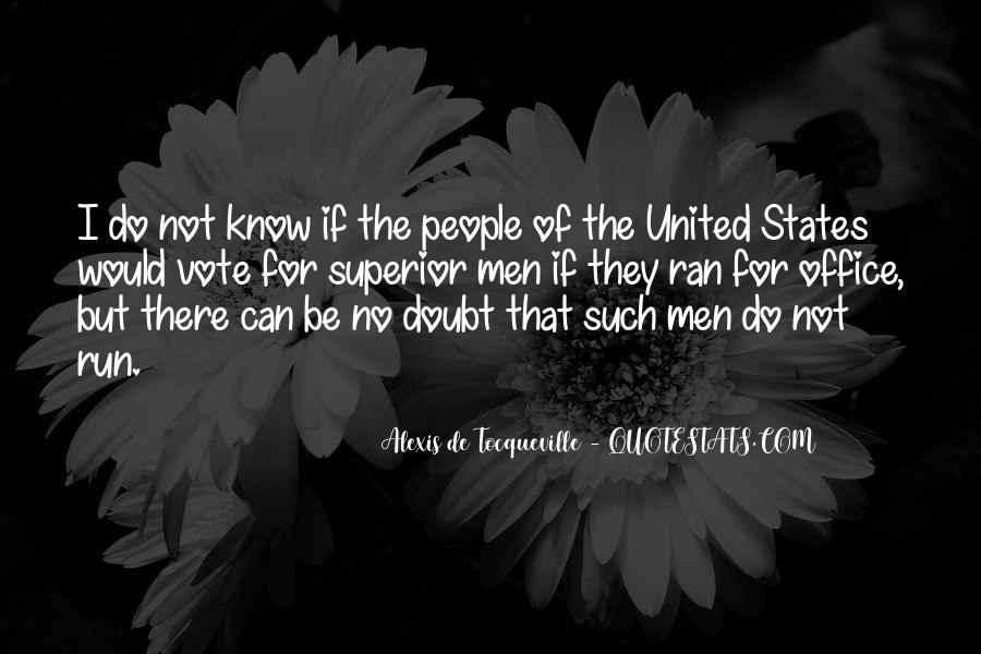 Tocqueville's Quotes #448234