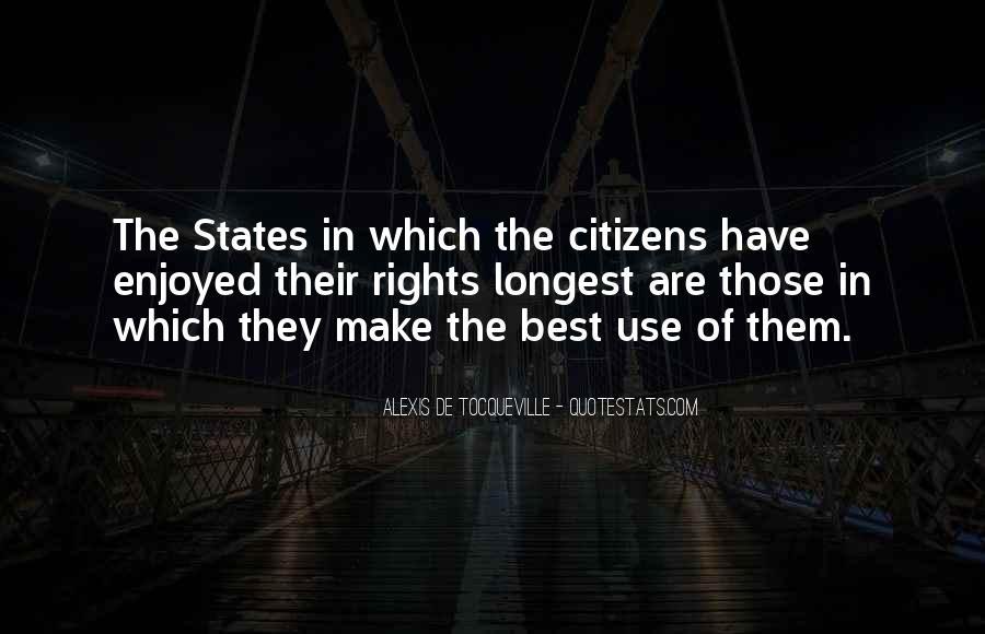 Tocqueville's Quotes #452104