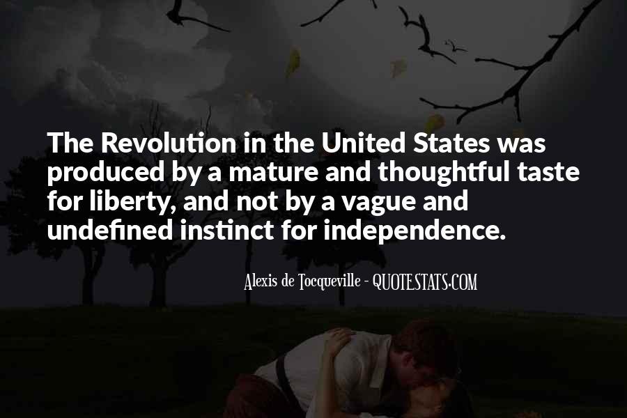 Tocqueville's Quotes #760