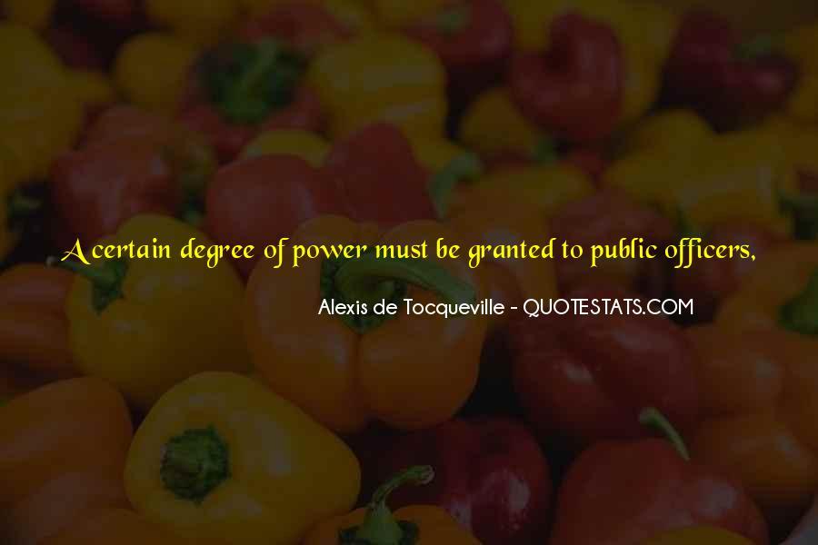 Tocqueville's Quotes #7819