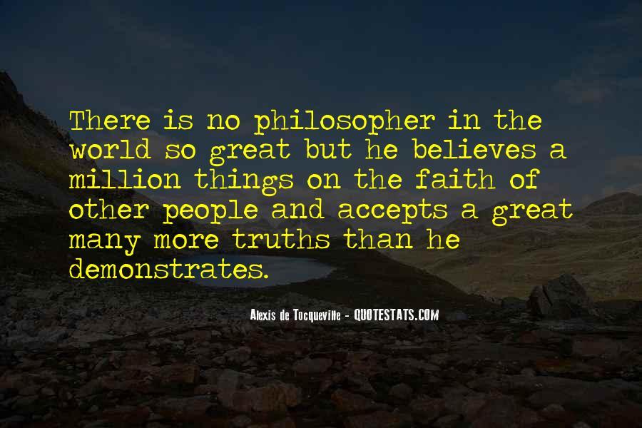 Tocqueville's Quotes #90517